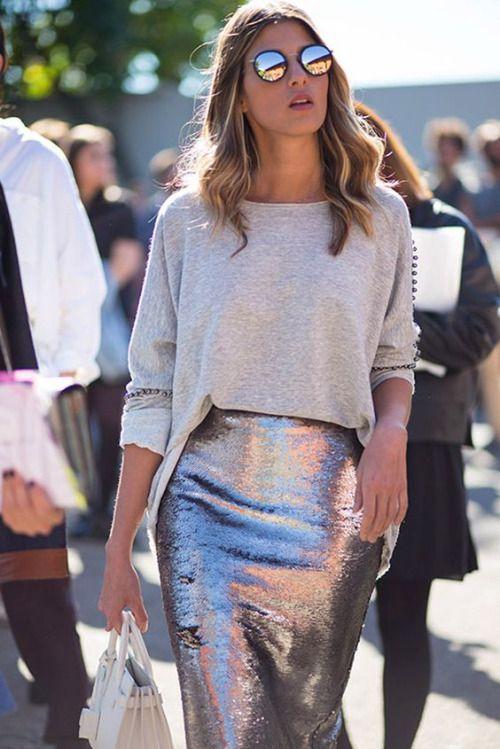 silver skirt eng