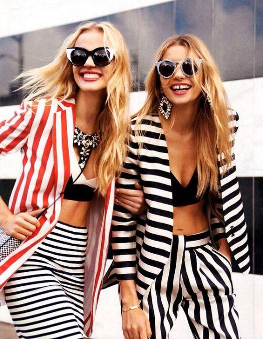 harpers bazaar stripes