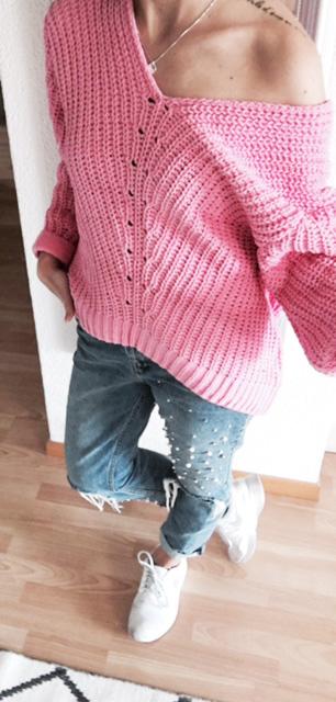 pinkpullover