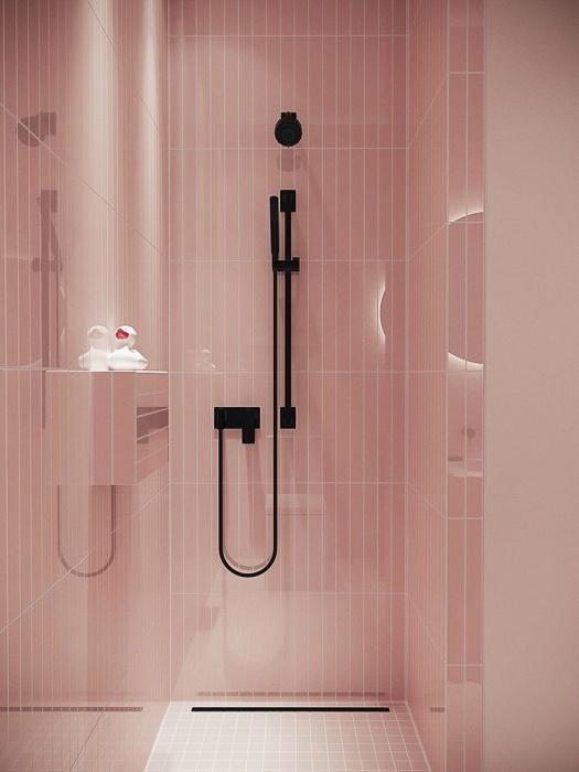 pink shower